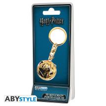 Harry Potter 3D kulcstartó aranycikesz