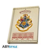 Harry Potter ajándékcsomag 5. - Kulcstartó, bögre, Roxfort jegyzetfüzet