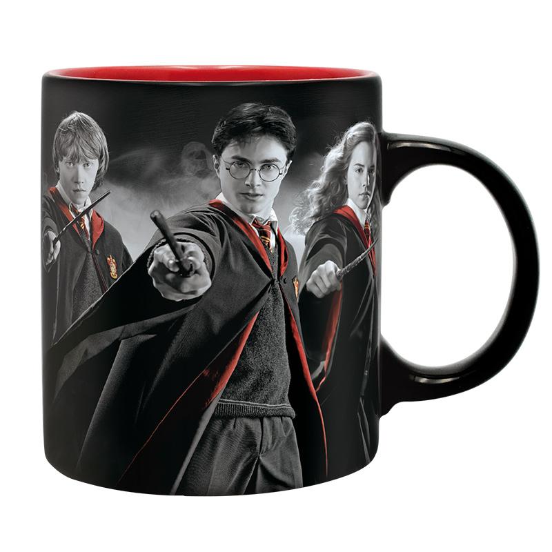 Harry Potter ajándékcsomag 1.: bögre, kulcstartó, matrica