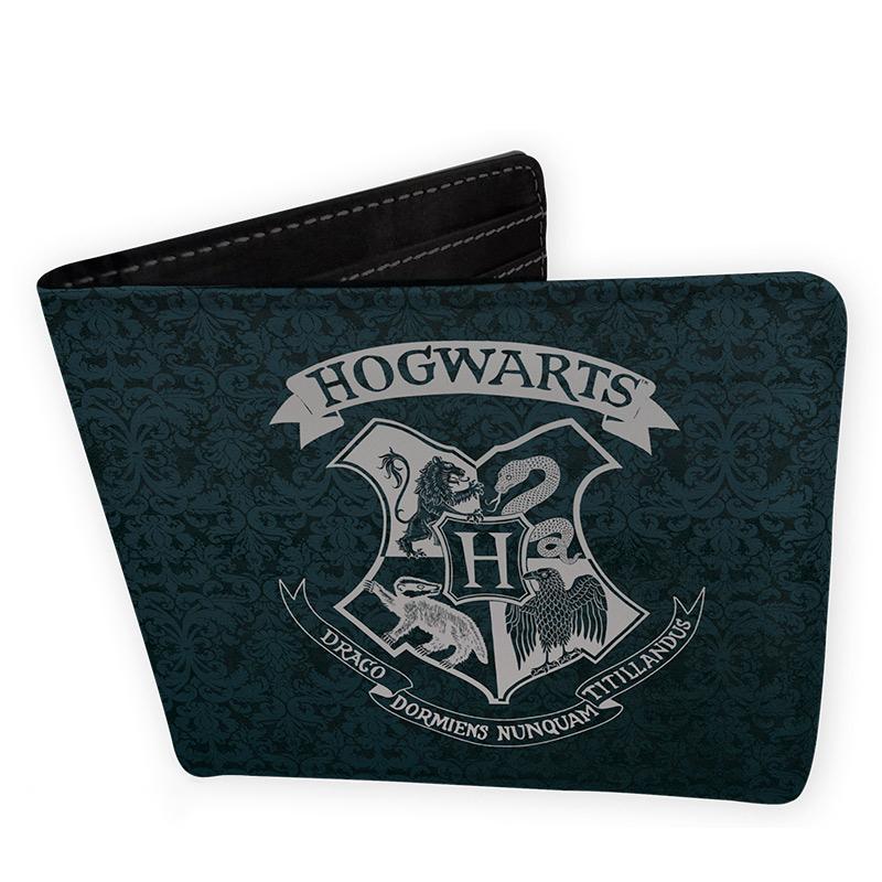 Harry Potter pénztárca Roxfort címer mintával