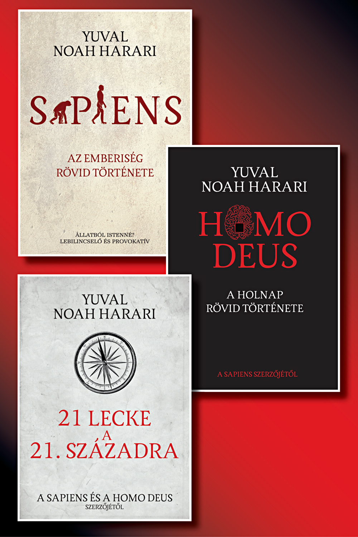 Yuval Noah Harari könyvcsomag