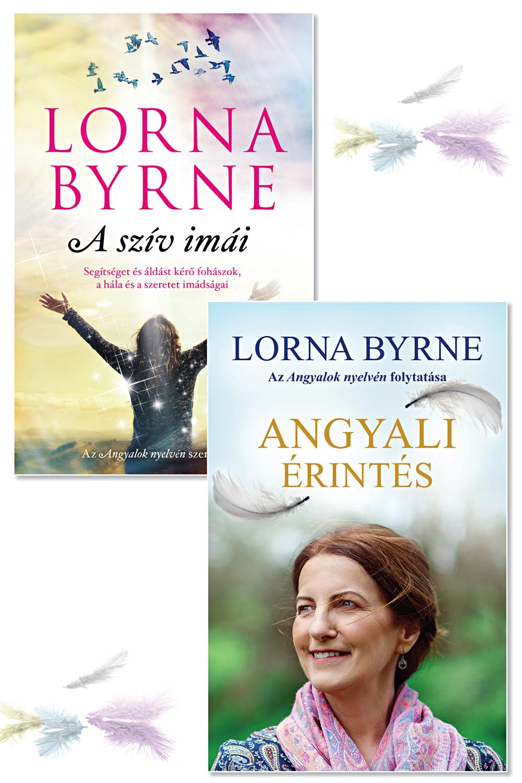 Angyali könyvcsomag Lorna Byrne sorozatából