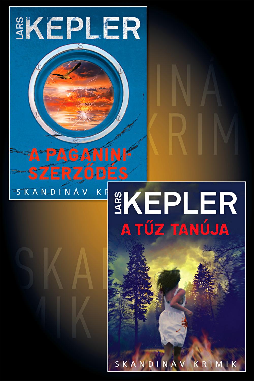Lars Kepler kezdő könyvcsomag (Joona Linna 2-3. rész)