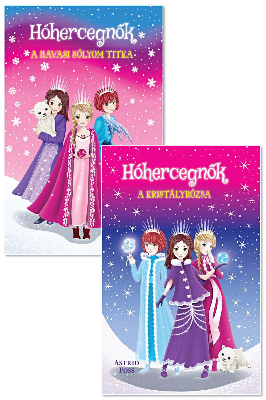 Hóhercegnők könyvcsomag lányoknak! 1.